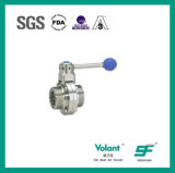 Sanitary Stainless Steel Thread Butterfly Valve Sfx052