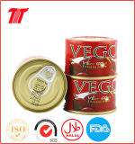 Cammed Tomato Paste with Vega Brand