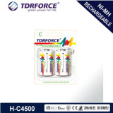Rechargeable Nickel Metal Hydride Long Service Life Battery with Ce for Toy (C/HR14)