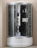 Massage Steam Sauna Glass Simple Shower Bath Room/Shower Cabin with Anti-Explosion Coating