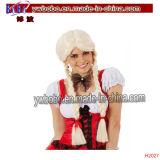 Oktoberfest Beer Maid Plaits Blonde Wig Headwear Party Items (H2027)