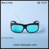 635nm, 650nm, 694nm Laser Safety Goggles/ Protection Eyewear for Red Lasers, Ruby Protection 600-700nm Ce En207