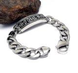 Gothic Style Star Fashion Unisex Bracelets Titanium Steel Jewelry