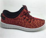 China Lady Sport Casual Shoes Canvas Upper