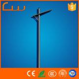 One Arm 8m Hot Galvanized Steel LED Street Light Pole