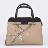 China Supplier Leather Lady Handbag Tote Bag Custom Bag Satchel