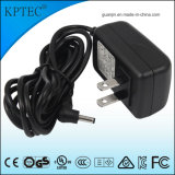 12V/1A/12W AC/DC Switching Power Adapter Supply with USA Standard Plug