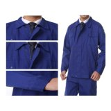 Wholesale Canvas Fabric Navy Blue Uniform/Workwear (A149)