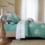 Premium Soft Cotton Embroidery Home Bedding, Bed Linen, Luxurious Hotel Bedding