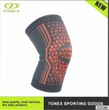 Lightweight Compression Knee Brace Knitting Spandex Fabric Knee Pad