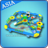 Commercial Outdoor Water Games, Giant Inflatable Floating Water Park, Inflatable Aqua Amusement Park