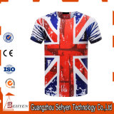 100% Polyester 3D Printing T-Shirt for Men and Women