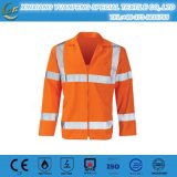 Safety Drill Fr Shirt for Industry Worker 100% Cotton Long Sleeve Wholesale Safety Fr Shirts