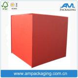 Larger Size Cube Corrugated Storage Clothing Box Cardboard Carton Box Manufacturer