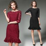 Wholesale Women Lace Evening Dresses (A909)