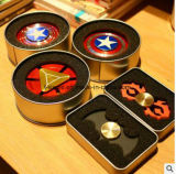 2017 New High Fashionable Hand Spinner Superman/Captain America/ Fidget Spinner