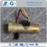 Brass Material Liquid Water Flow Sensor for Water Treatment Controller