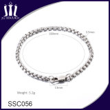 Hot Selling Jewelry Couple 304L Stainless Steel Women Chain Bracelet