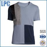 2016 OEM Custom Cotton Casulattice Fashion T-Shirt