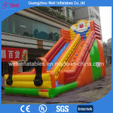 Good Price Clown Inflatable Slide for Sell