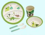 Eco-Friendly Bamboo Fiber Kids Dinnerware Sets (YK-BS1005)