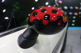 Replacement Side Mirror Cover Vivid Red Style for Mini Cooper