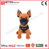Promotion Gift Plush Stuffed Animal Soft Toy Military Dog for Kids