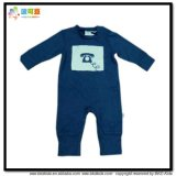 Warm Winter Baby Clothing Dark Blue Baby Boy Rompers