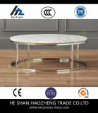 Hzct166 Smart Round Marble Top Coffee Table