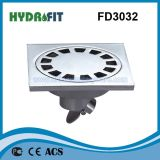 Zinc Alloy Shower Floor Drain / Floor Drainer (FD3032)