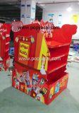 Advertising Pop POS Cardboard Pallet Display Shelf for Chocolate, Warteproof Creative Corrugated Cardboard Pallet Display Racks