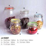 Glass Storage Jar / Clip Cap Glass Jar