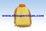 Super Absorbent Microfiber Chenille Glove for Car Washing and Polishing (CN1407)