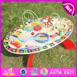 New Design Multi-Function Toys Wooden Toddler Activity Table W12D065