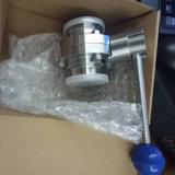 3A Hygienic Stainless Steel Clamped Butterfly Valve