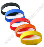Custom PVC Bracelet Custom USB Flash Memory (UV01)
