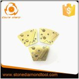 2PCD 1 Bar Trapezoid Metal Bond Diamond Grinding Disc