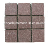 Cheap Price Natural Red Paving Stone for Exterior Floor Cladding