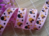 22mm Minnie Mickey Grosgrain Ribbon 100 Yards