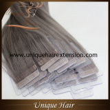 Wholesale Price Brazilian Remy Grey Color Tape in Extensions