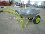 Russia Market Zinc Tray Wheelbarrow (Wb6203A)