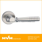 Stainless Steel Door Handle on Rose (S1051)