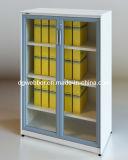 Modern Steel Glazed Swing Door Filing Cabinet (SV-SWG1357)