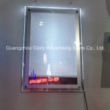 LED Crystal Frame Scrolling Screen Light Box