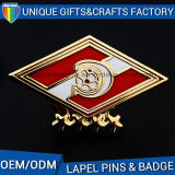 Particular Company Logo Colorful Metal Badge for Special Event
