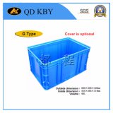 Plastic Material Foldable Plastic Crate Logistics Turnover Container