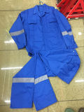 Hot Sale Blue Color Safety Coverall for Protecting Workers