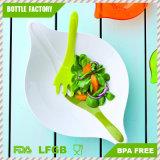 Salad Bowl with Plastic Serving Fork Compact Design Melamine and BPA Free Dishwasher Safe/BPA Free