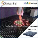 Stage Floor/LED Interactive Dance Floor/Light up Dance Floor