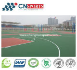 High Quality Rubber Spu Sports Court Flooring (Silicon Polyurethane)